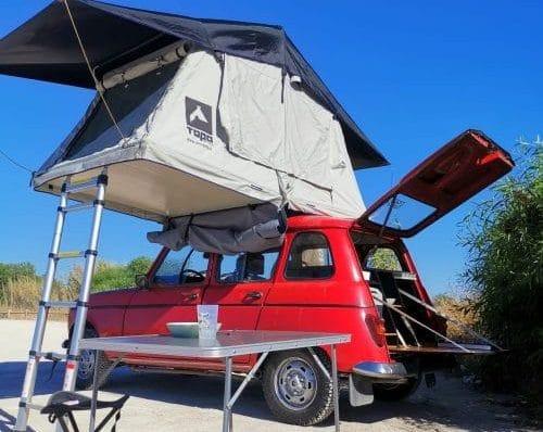 """Minicampervan Renault 4L """"Ria"""""""