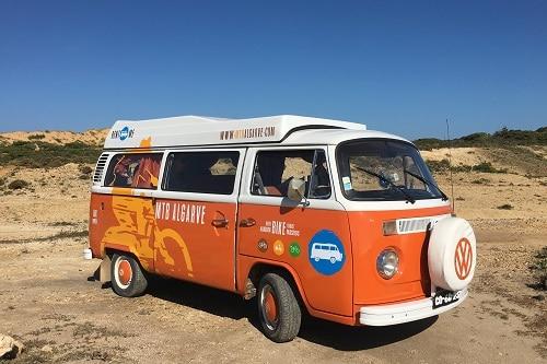 "Campervan VW T2 ""Fresh Orange"""