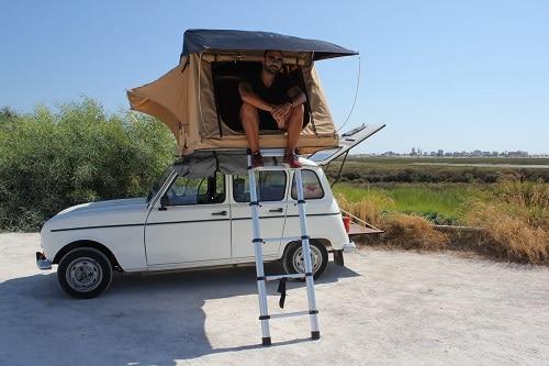 """Minicampervan Renault 4L """"Cliff"""""""